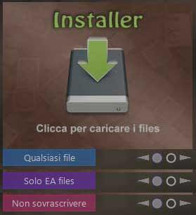InstallerOptionsITA